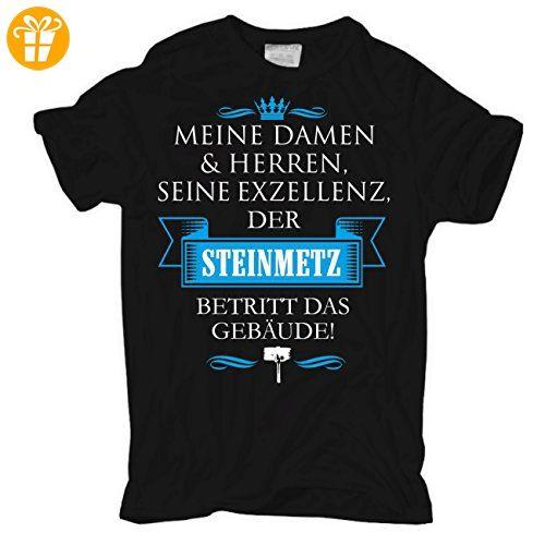 Männer und Herren T-Shirt Seine Exzellenz DER STEINMETZ - T-Shirts mit Spruch | Lustige und coole T-Shirts | Funny T-Shirts (*Partner-Link)