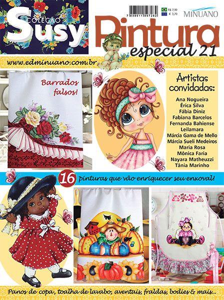 Artesanato - Pintura : COL SUSY PINTURA ESPECIAL 021 - Editora Minuano
