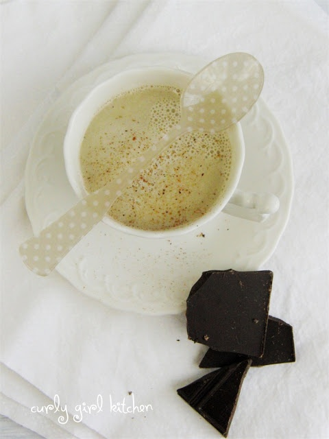 rainy day musings, warm milk with honey, and chocolate...