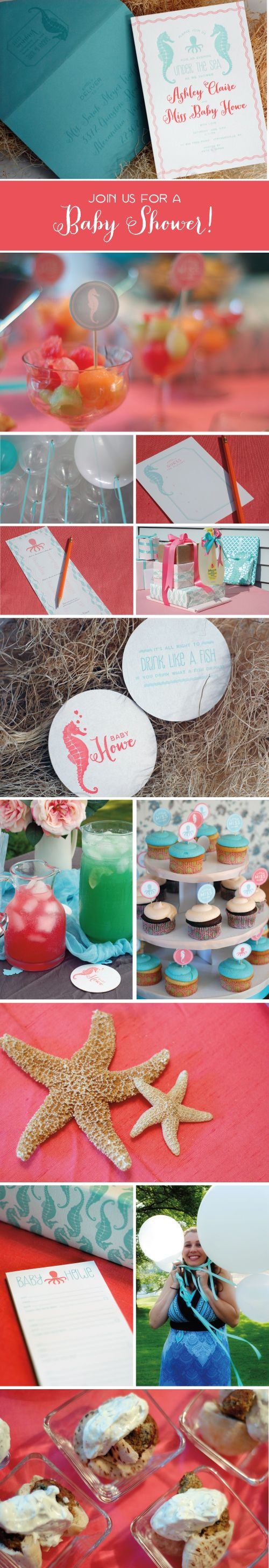 Real Parties: Under The Sea! Motywy Na Baby ShowerKoniki ...