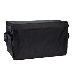 Caisse et Coffre de Voiture Malle Voiture Organisateur pour Vêtements et Pendries Maison Avec Couvercle Coffre Auto Boîte à Outils Caisse…