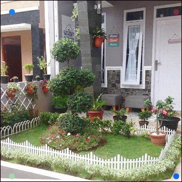Gambar Teras Rumah Minimalis Beserta Taman Minimalis Terbaru Small Garden Design Small Garden Garden Design
