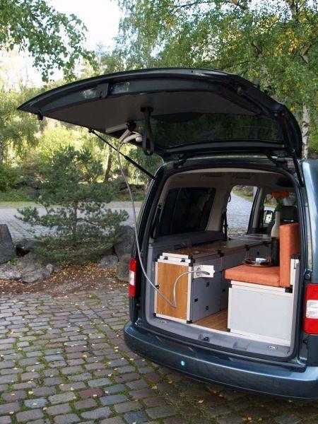 76 best images about vw caddy camper ideas on pinterest. Black Bedroom Furniture Sets. Home Design Ideas