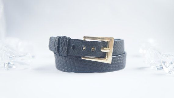 Genuine Leather Bracelet / Lizard Leather Double by KRAMAGOODS