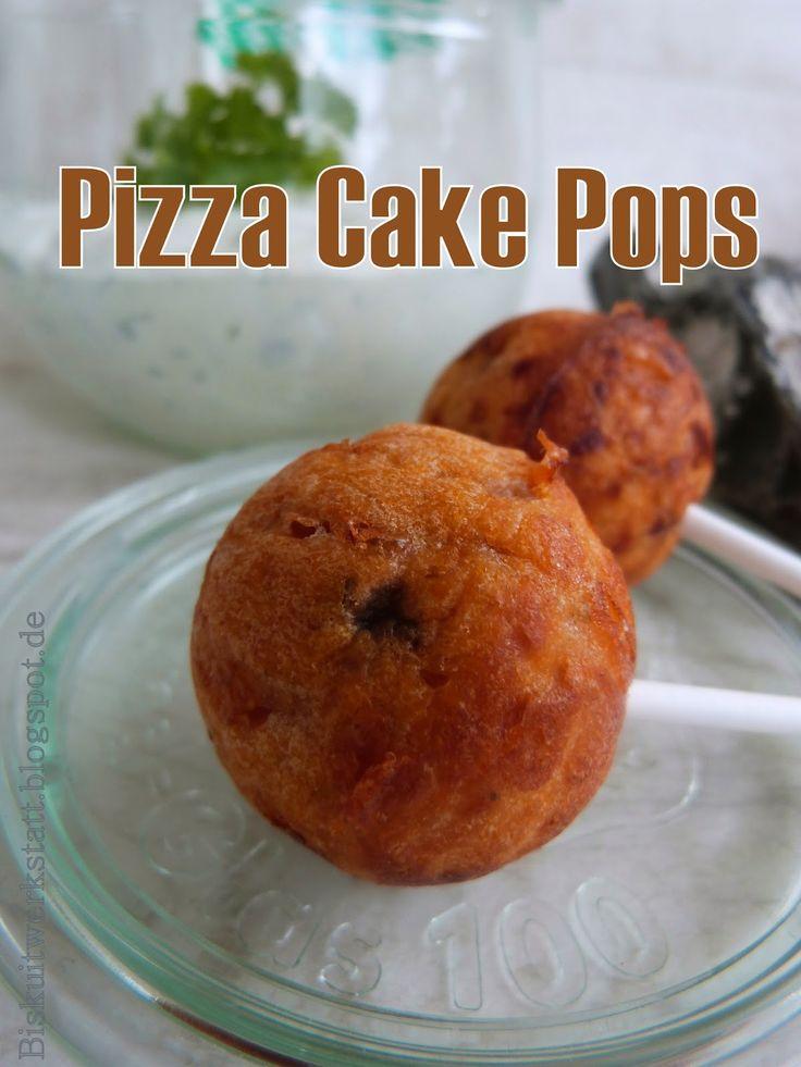 Mein fabulöser, nigelnagelneuer Cake Pop Maker im Produkttest. Knallhart recherchiert und nachgefragt Teil II: Pizza Cake Pops - Biskuitwerkstatt