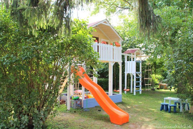 ein garten f r kinder ihr eigenes stelzenhaus familiengarten gestalten garten garten. Black Bedroom Furniture Sets. Home Design Ideas