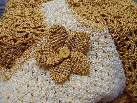 Flor # 10 para Vestido Circular Crochet - YouTube