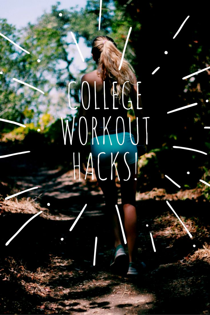 "4 college workout hacks: Working out has been proven to increase endorphins and improve concentration, but in the midst of balancing social engagements, assignments and work, many college students neglect working out. Here are four ""Workout Hacks"" I've discovered that can prevent working out from slipping off a college student's every-growing to-do list."