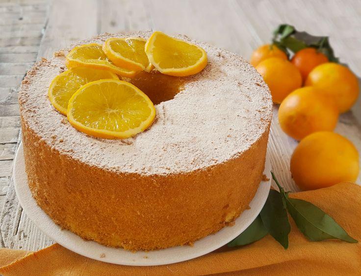 CHIFFON CAKE ALL'ARANCIA. Profumo e aroma inebrianti, senza paragoni. Si scioglie letteralmente in bocca ed ogni morso è una bontà assoluta!