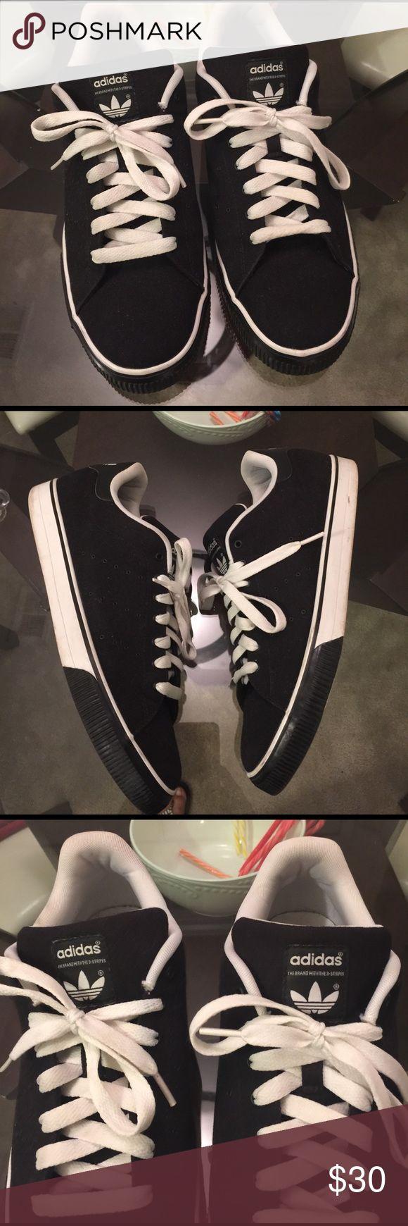 Adidas Neo Baseline Black/White Men Shoes Sneakers Superstar Lim