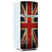 Adesivo de Geladeira Inteira - Bandeira Inglaterra