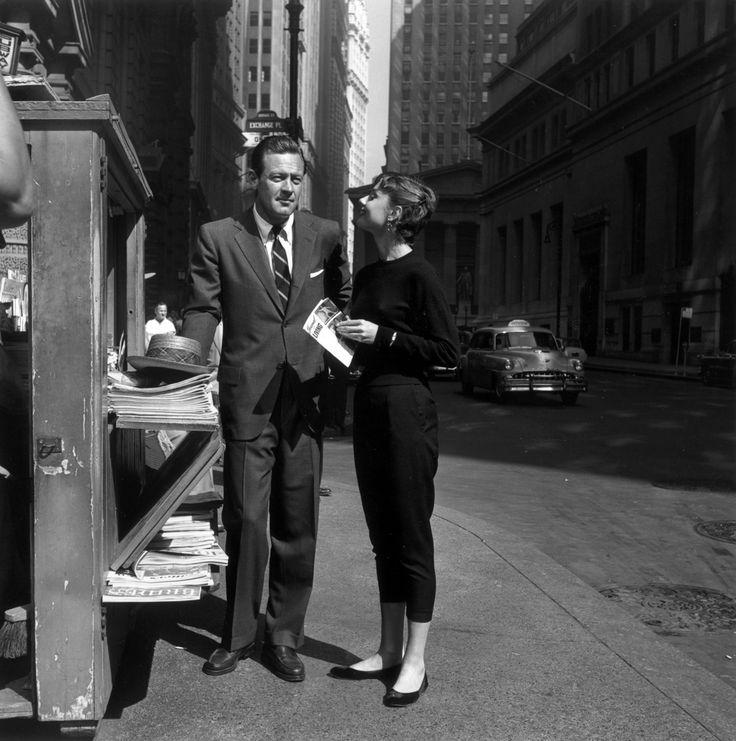 William Holden and Audrey Hepburn - Sabrina (1954)