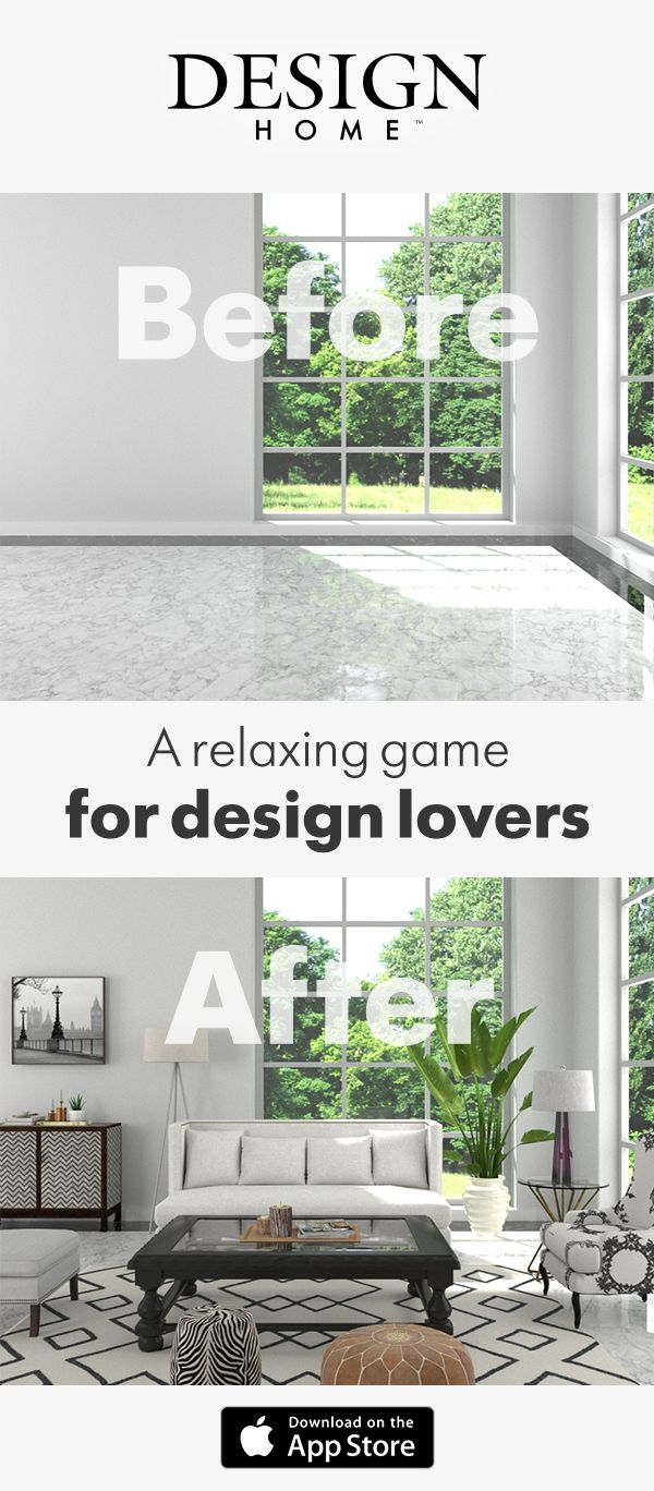 Start the New Year off right with Design Home.  Love home decorating? Play Design Home today, a relaxing, fun game that allows you to live the life of an interior decorator. Sharpen your decorating skills in daily Design Challenges and style visually stunning three-dimensional spaces with access to real, high-end furniture and decor brands