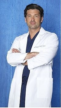 "When Patrick Dempsey auditioned for the role of Derek, he was afraid that he was not going to get the part. Show creator Shonda Rhimes' first reaction was: ""The very first time I met him, I was absolutely sure that he was my guy. Reading the lines of Derek Shepherd, Patrick had a vulnerable charm that I just fell for. And he had amazing chemistry with Ellen Pompeo."
