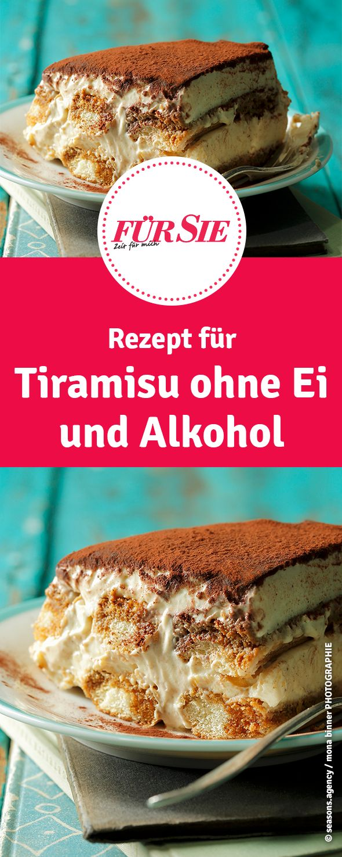 Tiramisu für Kinder und Schwangere - ganz ohne Ei und Alkohol