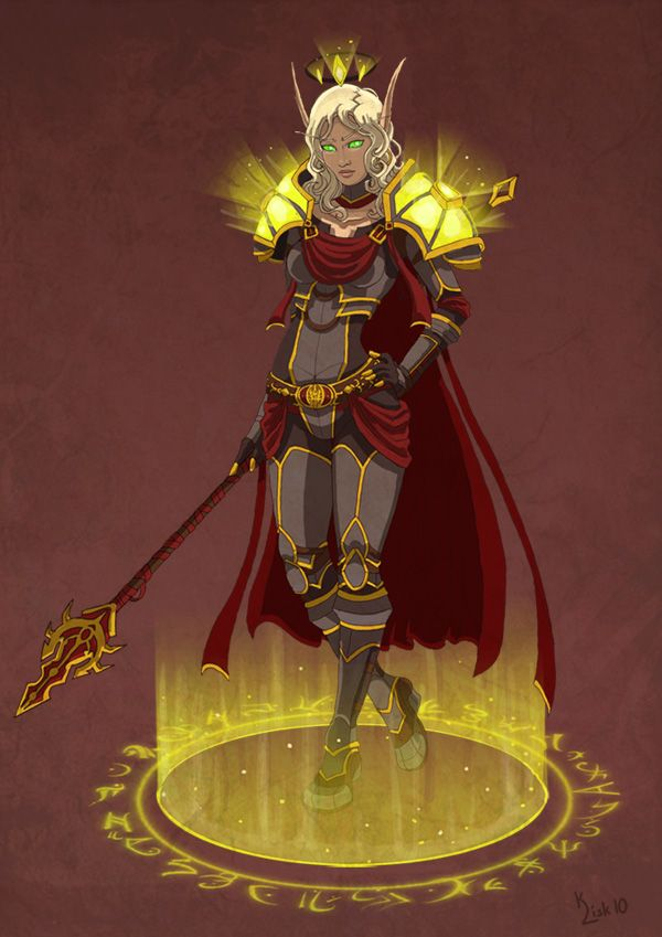 Sin'dorei Blood Knight by ~pokketmowse on deviantART