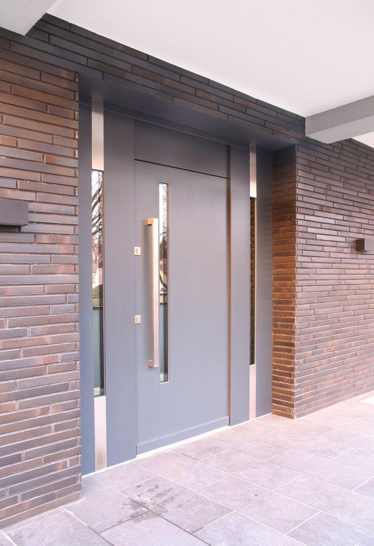 Drzwi zewnętrzne nowowieczne antracyt Antaba LZ479 - Lizurej