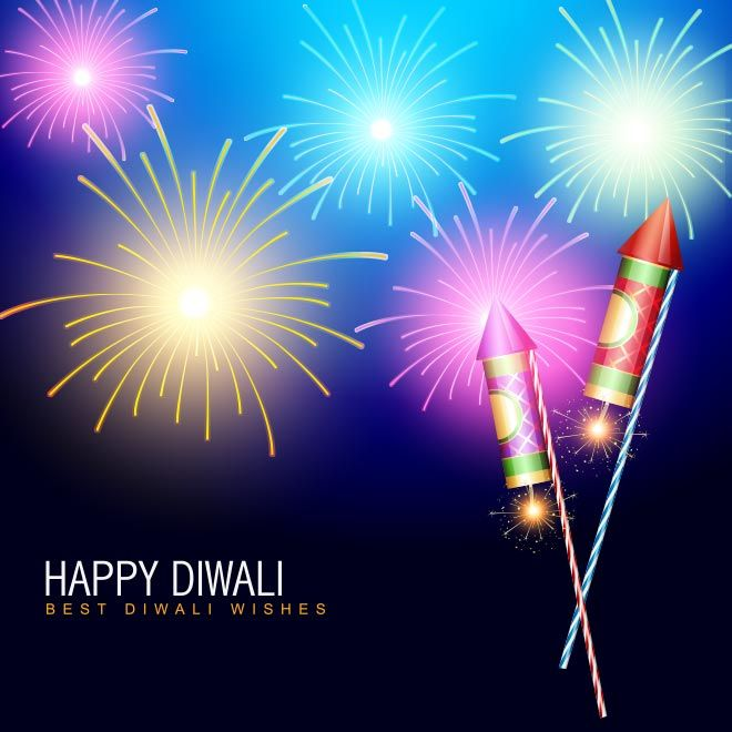 Diwali Wallpaper: Rocket Cracker On Best Diwali Wishes Happy Deepavali