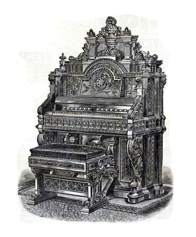 dating a reed organ