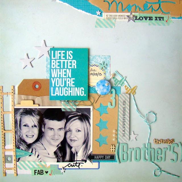 """Judy Scrap: lo """"brother's"""""""