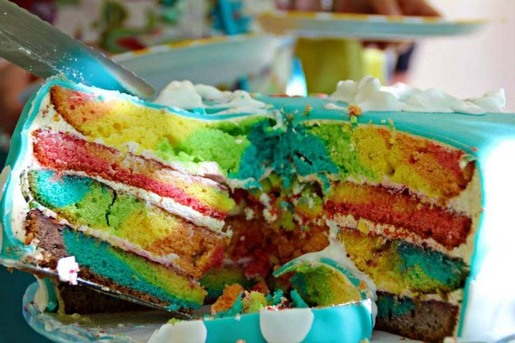 Rainbow cake_inside | by crissis_2000