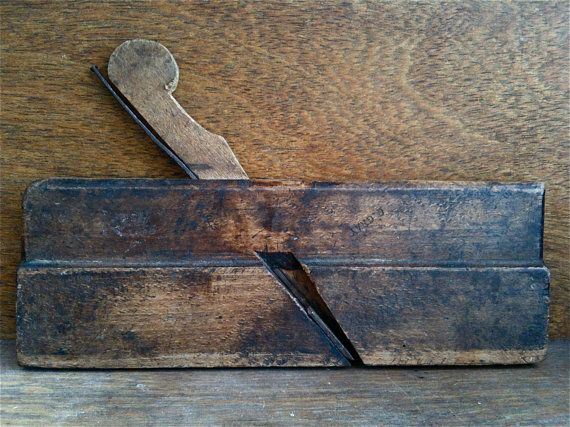 Antique English Wooden Plane