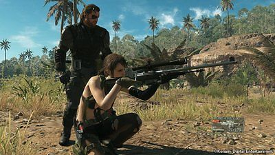 Metal Gear Solid 5 The Phantom Pain Ps3