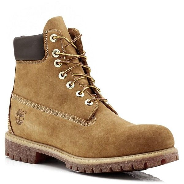 Timberland Classic Premium Waterproof Boot ($215) ❤ liked on Polyvore featuring men's fashion, men's shoes, men's boots, men's work boots, timberland mens boots, mens waterproof work boots, mens water proof boots, timberland mens work boots and mens waterproof boots