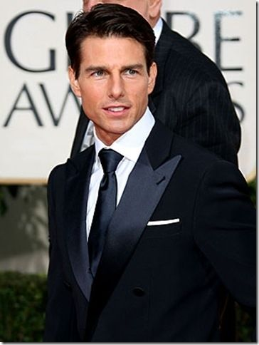 tom cruz | Tom Cruz Best Dressed Man at Golden Globes [PIC]