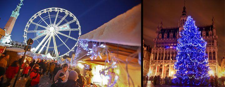 BRUSELAS la capital europea, por sólo ---> 148€ hotel Four Points by Sheraton Brussels 4* + avión 3días / 2 noches  Plaisirs d'Hiver (Placeres de invierno), regresa con su pueblo de Navidad, la gran NORIA, con un programa mágico, una carroza gigante tirada por 6 renos, la fábrica de juguetes de Papá Noel, el Ice Monster, un recorrido terrorífico y a la vez divertidísimo y muchas muchas más sorpresas!!
