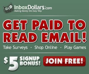 Get Paid to Shop Online, Get Paid for Surveys, Get Paid to Read Emails, Get Paid to Play Games, and get Paid to do Web Searches! Refer friends and make even more money! Get $5 FREE just for signing up! Click this link here to sign up -->> http://www.inboxdollars.com/?r=ref23919259&s=7