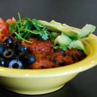 The Original Yumm Bowl by Café Yumm, Eugene, Oregon