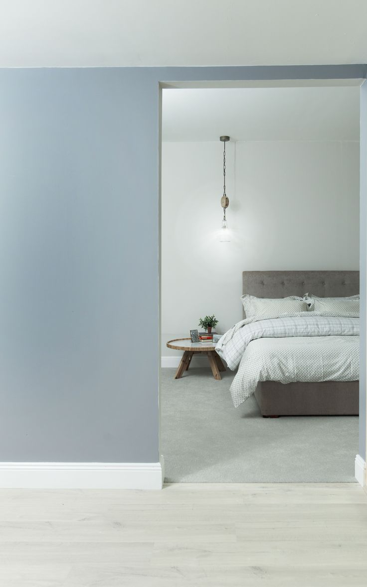 Exceptional Colourtrend Paint Used In The Showhouse: Blue Period 0690 In Ceramic Matt  Finish, Silver