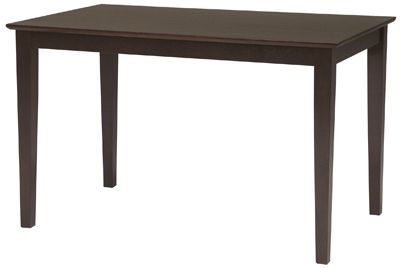 Parawood Rectangular Table | Bare Woods Furniture | Real Wood Furniture Finished Your Way