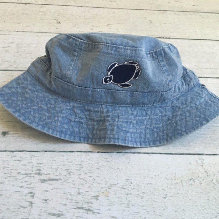 Shelly Bucket Cap - Horizon Blue - Shelly Cove  - 1