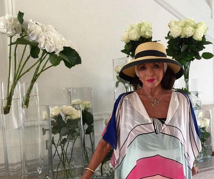 Актриса Джоан Коллинз в 82 года выглядит на 40 лет младше #ДжоанКоллинз #шоубиз
