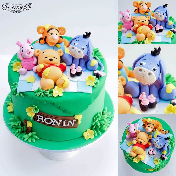 229 best Cakes -Winnie the Pooh and Masha \ the Bear images on - winnie pooh küche