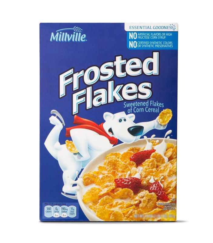 Millville Frosted Flakes Aldi Exclusive Millville Frosted Flakes