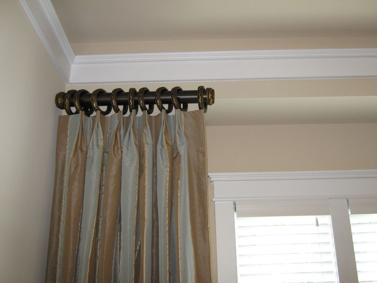 1000+ Ideas About Short Curtain Rods On Pinterest