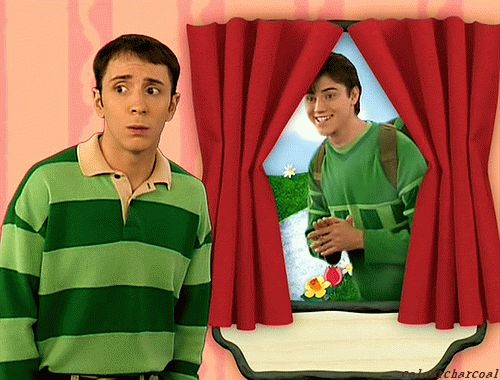 lolol .Blue's Clues Gifs.