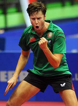 Vladimir Samsonov, espíritu ganador #vladimirsamsonov #tabletennis #tenismesa #vsport