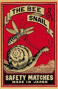 """matchbox labels from the late 1800s to the 1930s. Here are a few from the """"Company Brand Matches"""" room"""