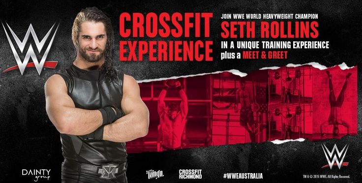 WWE CrossFit Experience with Seth Rollins coming to a Box Near You