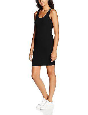 16, Black, New Look Women's Low Back Bodycon Dress NEW