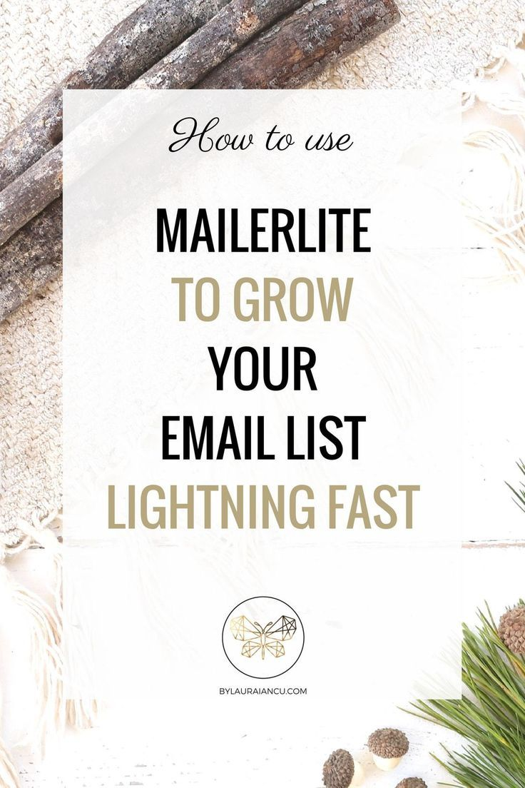 Do you already have an email list for your blog or plan to build one? Do you find email marketing too complicated? This guide uncomplicates your list building efforts and teaches you how to get started with MailerLite, probably the easiest and most flexib