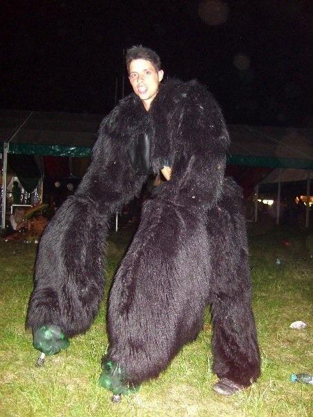 gorilla costume by james sutton via behance my work