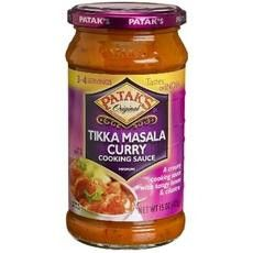Enjoy Patak's Tikka Masala Curry Cooking Sauce, Medium. Original. An Authentic Indian Recipe. Tastes Of India. Suitable For Vegetarians. Gluten Free. Product Of The United Kingdom. (Note: Description