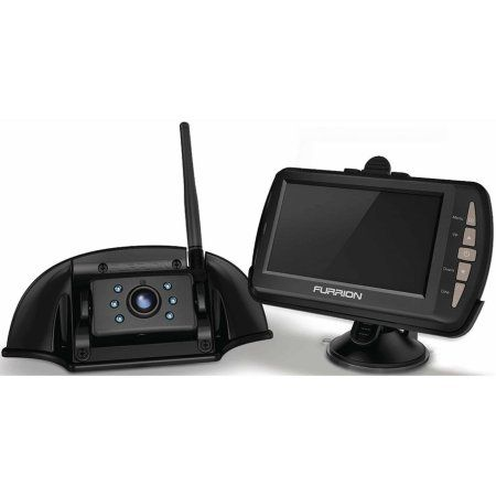 Furrion Vibrationsmart Backup Camera System with Camera, Monitor and Mounting Bracket, Multicolor