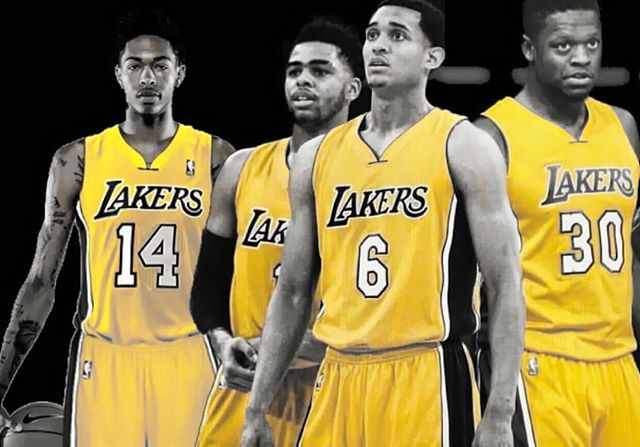 """Check out 'Lakers Talk Weekly', a live broadcast on Facebook every Wednesday @ 7:pm/10:pm presented by Eric Cammon #WWLG4L🔸The latest news and rumors. Questions and Answers. 🔸Hosted by Buster Scher ▪️Go to Facebook and search """"Lakers Nation News and Updates"""" and join the discussion. (In progress) __________________________ #lakers #lakersnation #facebook #losangeleslakers #lakeshow #jordanclarkson #dangelorussell #juliusrandle #brandoningram"""