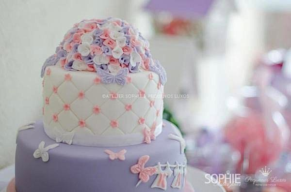 Kara's Party Ideas Pink Lilac Purple Butterfly Flowers Girl Baby Shower Planning Ideas